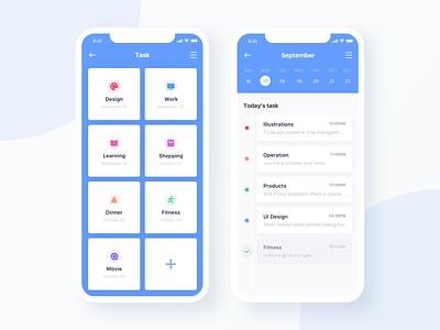 To do task list ux typography ui icon app design