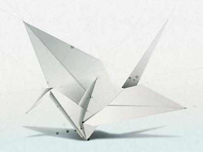 Crane illustrator education vector origami illustration adobe bird graduation crane data peaceful