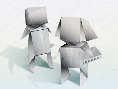 Students illustrator education vector origami illustration adobe bird graduation students data people