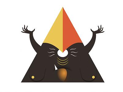 Illumanati posse #2 illuminati character design vector illustration