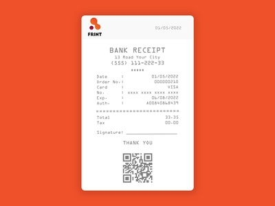 Daily UI :: 017 Email Receipt