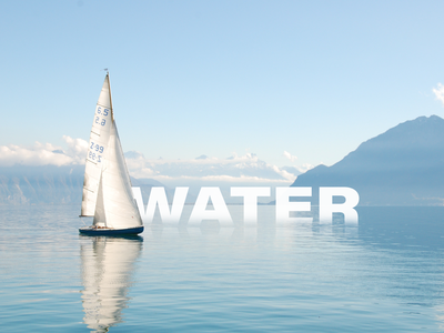 Water Illustration icon branding trending typography dribbble ux clean design free concept illustration