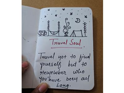 Travel Soul dribble trending drawing soul love travel