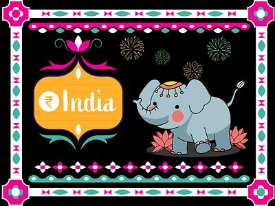 India black indian elegant rupee india weekly challenge weekly warm-up