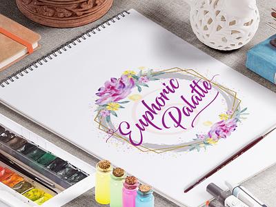 Euphoric Palatte Logo debue ux material design concept color logo design vector free ui design logo illustration