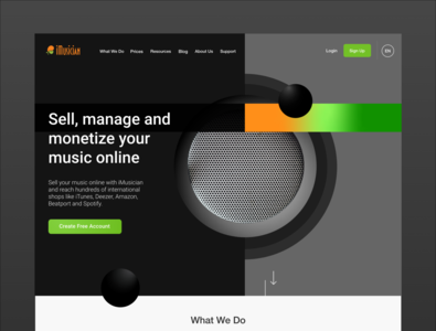 iMusician Homepage
