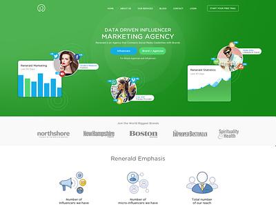 Digital Marketing Agency Followers vector graphic design branding