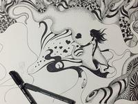 Abstract Art-Working Progress