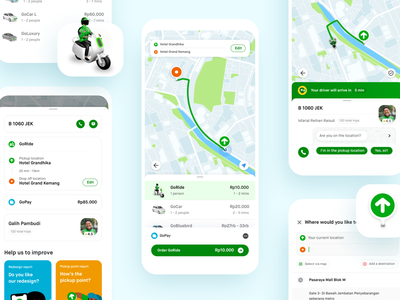 Gojek Designs Themes Templates And Downloadable Graphic Elements On Dribbble