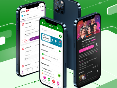 Super App Ecosystem - Join Us! foodtech fintech payment gopay streaming app goplay food delivery gofood merchant platform ride hailing hiring design vacancy design job ecosystem super app gojek