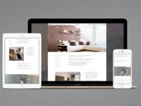 Interior Design Studio Website II