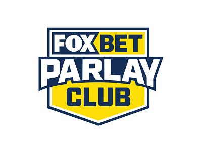 Fox Bet Parlay Club logo logo vector branding fox blue yellow online gambling sports