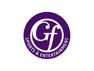 GF Sports & Entertainment branding purple entertainment sports