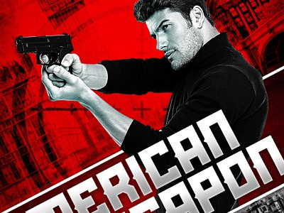 American Weapon Book Cover spies red novel bookcover russian design