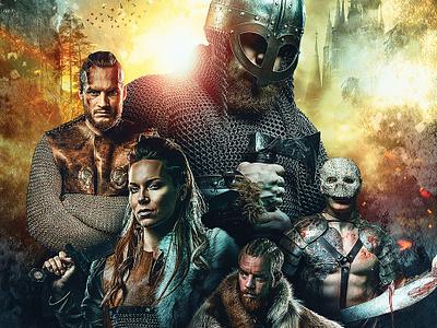 UNFORGIVEN - Book Cover branding grunge cover poster movie vikings kings adventure book