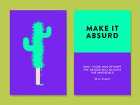 Make it Absurd