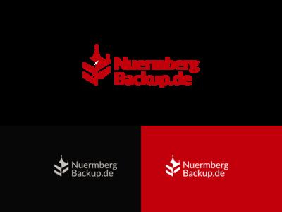 Logo for cloud backup data center in Nuremberg