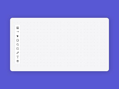 Collaborative Whiteboard App interface interaction design monday.com collaboration animation ui  ux app product design
