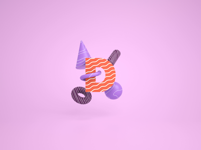 Responsive Letter D kinetic typography typography letter 36daysoftype design c4d octane cinema 4d cinema4d 3d loop animation