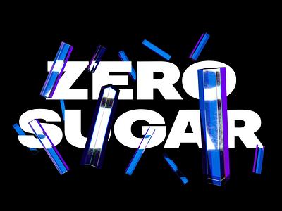 Zero Sugar motion kinetic type type octane render octanerender octane typography kinetictype kinetic cinema 4d cinema4dart c4d abstract 3d animation cinema4d 3d animation