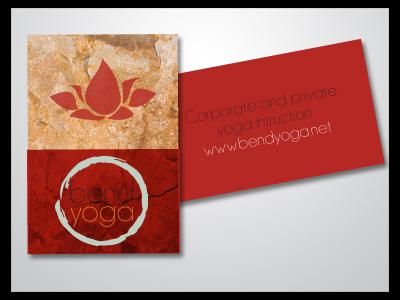 Bend Yoga Card