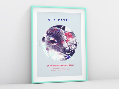 Ota Pavel Cover & Poster print poster illustration stag editorial deer cute pen animal magazine literary indipendent
