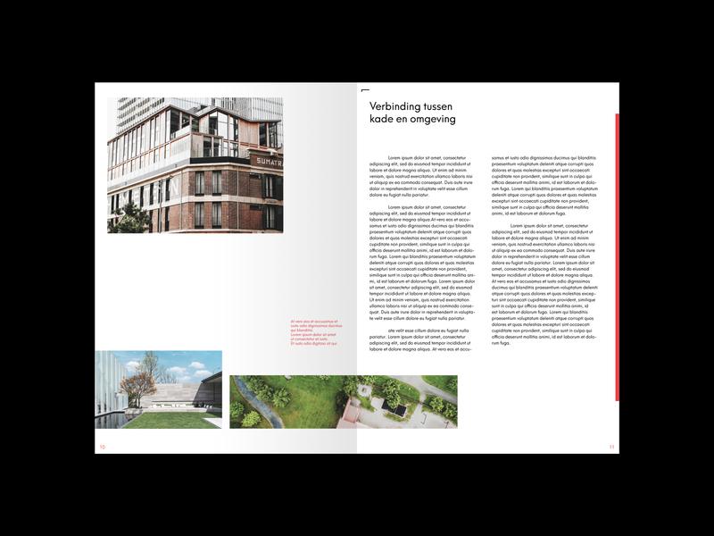 Juurlink [+] Geluk Booklet urbanism landscape design architecture booklet booklet design minimal identity print design typography