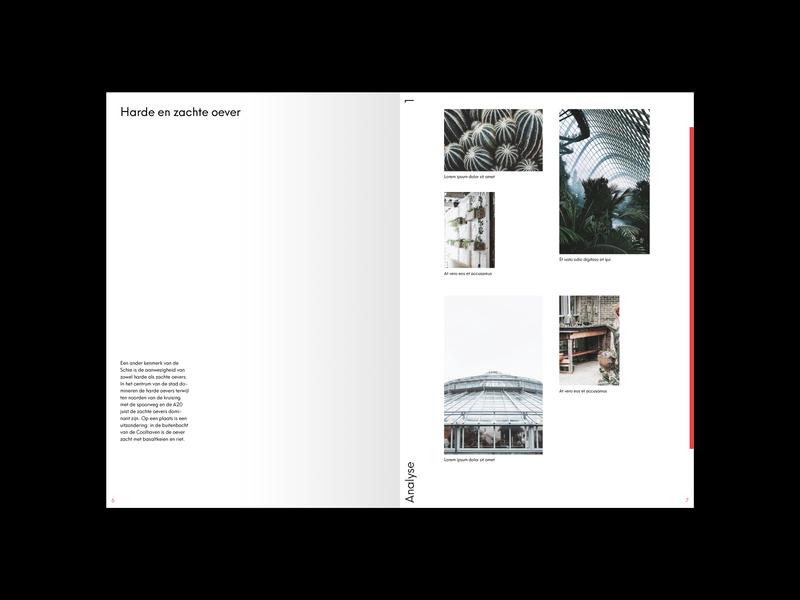 Juurlink [+] Geluk Booklet landscape landscape design urbanism architecture booklet design booklet minimal identity design print typography