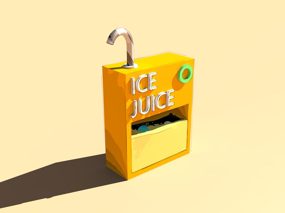 ICE JUICE c4d