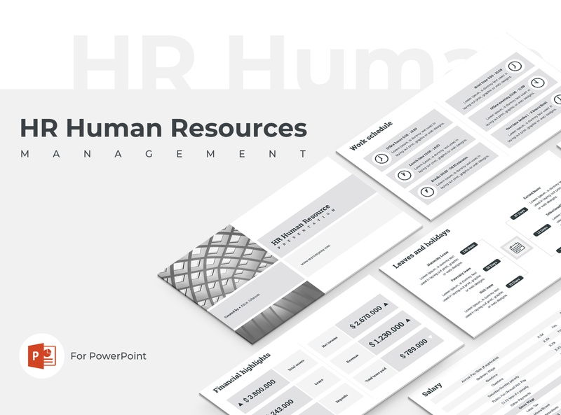 HR Human Resources Presentation Template elements presentation corporate office management manager marketing business proposal design strategy keynote powerpoint template human resources hr