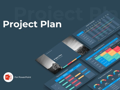 Project Plan Presentation Template powerpoint design keynote powerpoint template presentation digital budget strategy prototype table wireframe design website web report status management proposal plan project