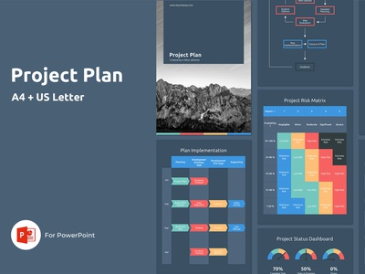 A4 Project Plan Presentation Template team apple schedule infographic marketing business report status management project graphic design broshure magazine webproject webdesign website project proposal powerpoint presentation powerpoint template
