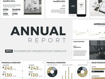 Annual Report Presentation Template management tool management corporate office profile company report project powerpoint service template proposal design business keynote marketing annual