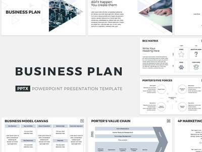 Business Plan Presentation Template presentation office management tool corporate company template management design keynote marketing powerpoint report service proposal plan business