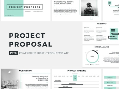 Project Proposal Presentation Template plan presentation pitchdeck premium pitch office management tool corporate management company report service powerpoint marketing keynote design business template proposal project