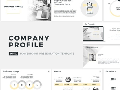 Company Profile Presentation Template strategic pitchdeck plan presentation proposal report project office management management tool corporate template service design marketing powerpoint keynote business profile company