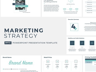 Marketing Strategy Presentation Template pitch plan strategic pitchdeck presentation management tool project management corporate company template report keynote powerpoint design proposal strategy business service marketing