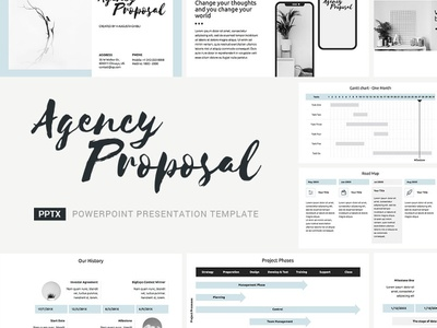 Agency Proposal Presentation Template plan pitch office project management corporate company template service keynote powerpoint marketing business design report deal offer proposal studio agency