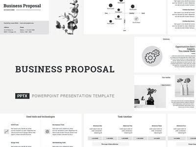 Business Proposal Presentation Template