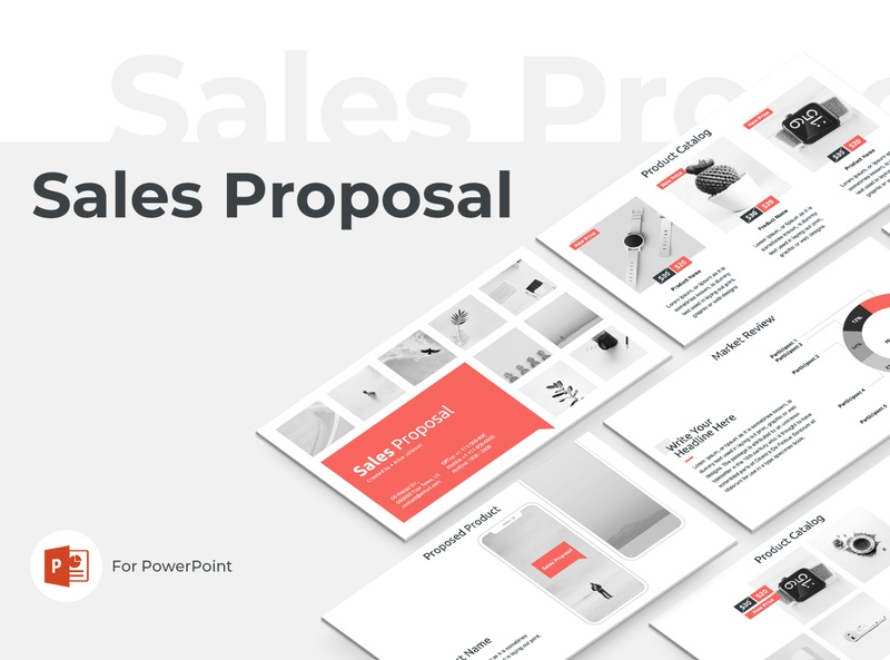Sales Proposal Presentation Template investor invest trade deal sale corporate office product project company template service powerpoint design report marketing keynote business proposal sales