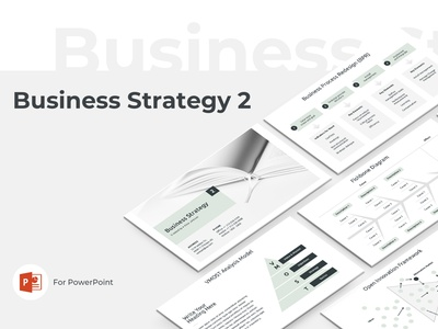 Business Strategy 2 Presentation Template diagram chart strategic design strategies strategic project company template service design report proposal marketing keynote powerpoint strategy business