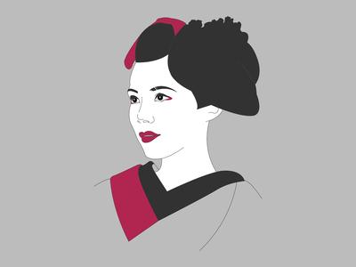 Minimalistic Geisha