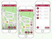 Daily UI Challenge 020 - Location Tracker