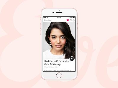 Eve Beauty App branding beauty app ios design app ux ui