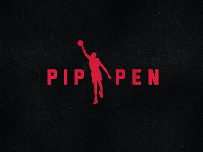 Pippen Brand the last dance sports scottie rebrand pippen nike nba mj michael jordan logo jumpman jordan espn chicago bulls chicago bulls branding brand basketball 90s