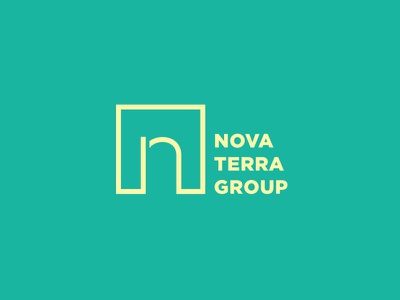 Nova Terra Group n development property real estate construction architecture ocean sand island tropical new jersey nj shore beach geometric square building monogram