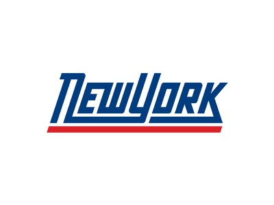New York custom type letters ny nfl football wordmark logotype logo sports type alphabet giants nyc new york rebrand