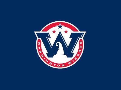 Washington Wizards font typography type washington dc roundel monogram w stars wizard design logo basketball rebrand nba dc wasington wizards