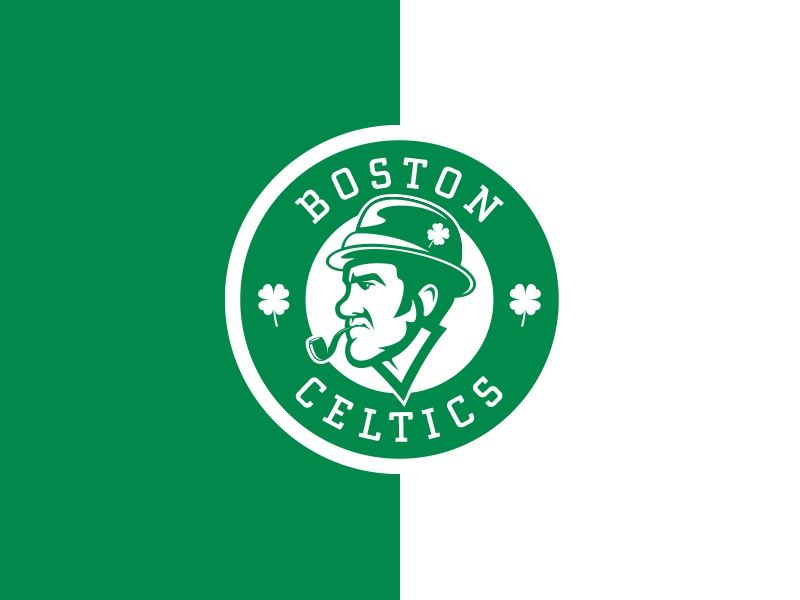 Boston Celtics design luck identity branding logo sports basketball nba celtics boston