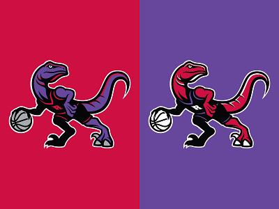 Toronto Raptors dinosaur canada logo sports branding basketball rebrand nba raptors toronto